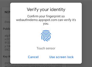 「Chrome 70」ベータ版は、Mac・Android端末の指紋認証に対応する