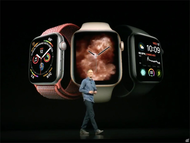 「Apple Watch Series 4」発表