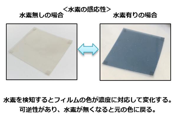 芝浦工大、柔軟性素材に低温で水素薄膜センサを形成する技術を開発