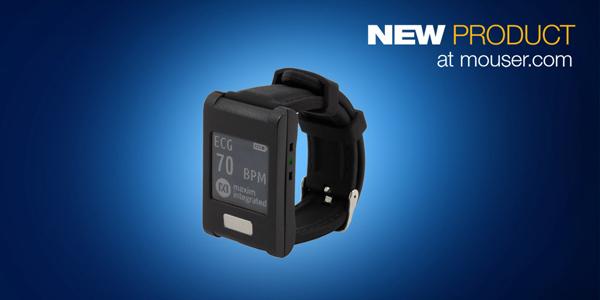 マウザー、ウェアラブル形状のマキシム社製MAXREFDES101 ヘルスセンサプラットフォーム 2.0の販売を開始