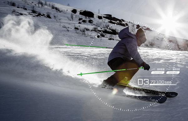 cerevo、スマホ連携のスキー板用センサモジュール「SKI-1」を開発
