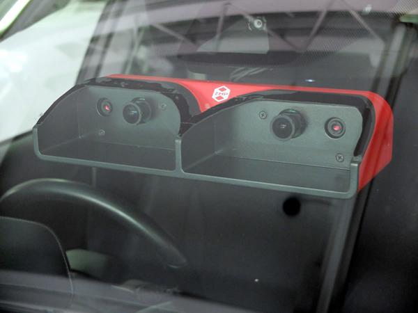 ZMP、最大150m水平110°の検出範囲の自動運転用ステレオカメラ