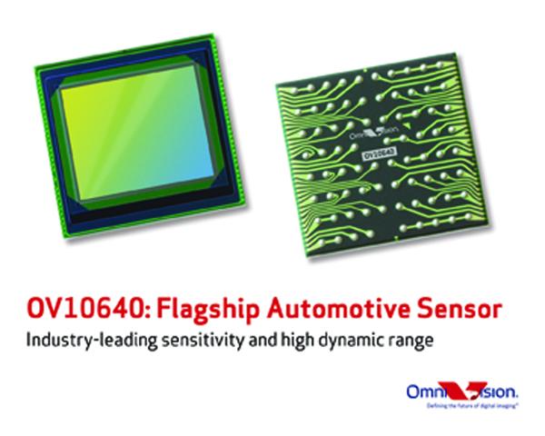 オムニビジョン、車載向け裏面照射HDR CMOSセンサを発表