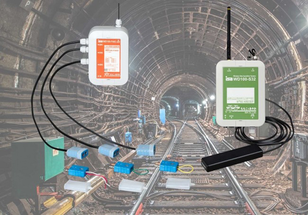 LoRa無線方式 10年電池駆動 熱電対温度計測装置