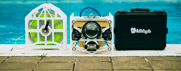 水中ドローンメーカー、FullDepthが約3.4億円の資金調達を実施