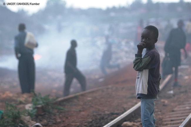 ユニセフ、「静かに窒息するアフリカ」発表。アフリカの大気汚染測定進まず。