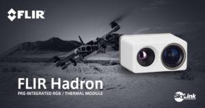 ドローン向けOEMデュアルセンサモジュール「FLIR Hadron」取り扱い開始