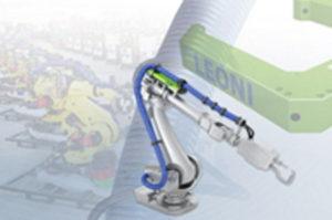 イリス、LEONI社と業務提携 機外配線保護ユニット・ツール座標TCP測定用センサ販売