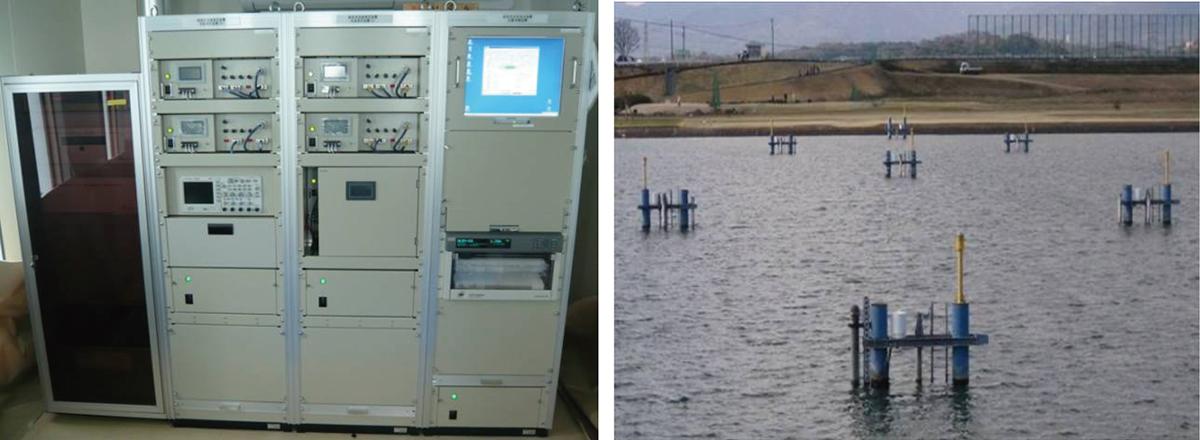 図-8 大型河川用流速計システム例